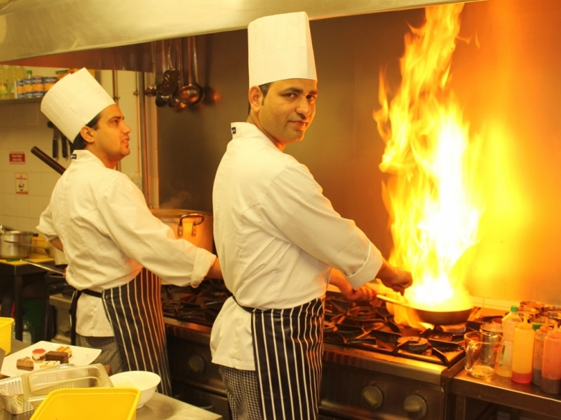 Indian Restaurant Chef